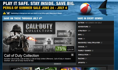 Steam Saves Us From Sharks With Massive Sale