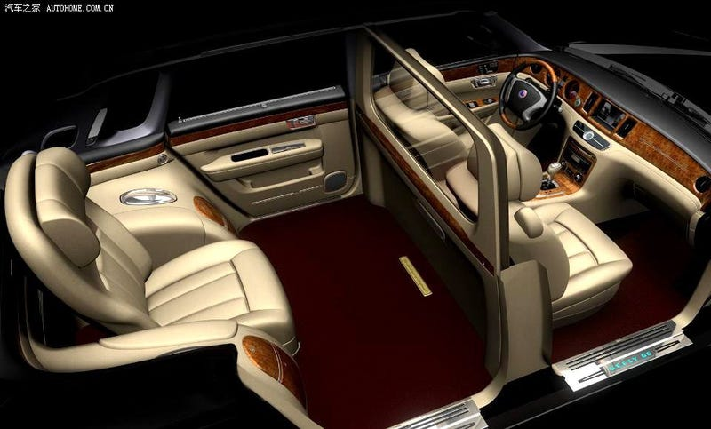 Geely GE Rips Off Phantom, Makes Room For One Imperial Emperor