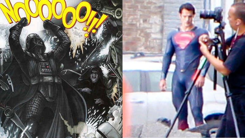 What are you more annoyed by: Darth Vader's overdub, or Superman's weird costume?