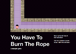 Lunchtime Flash Game: You Have To Burn The Rope