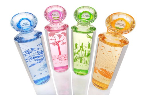 KOR's Special Edition Water Bottles Etched With Sloshing Landcapes