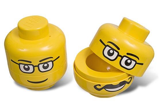 Dead LEGO Minifig Skull Holds Eggs, Easter or Not