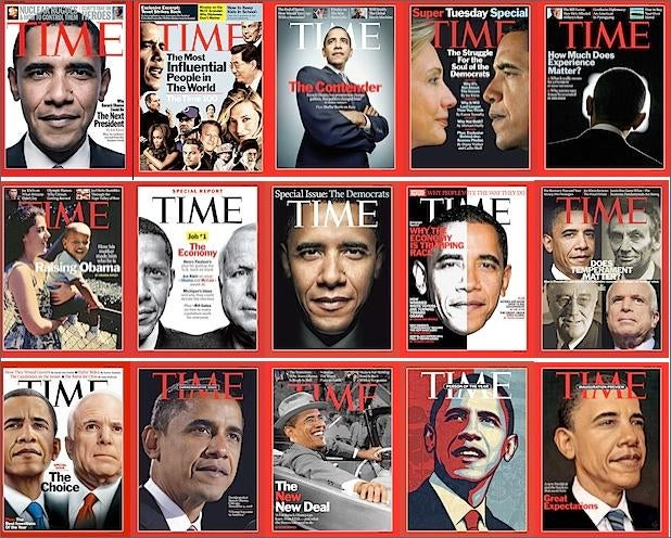Time Nears Completion of Every Possible Obama Cover Variation