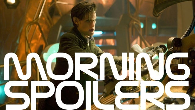 Tons of spoilers for the return of Doctor Who. Plus a new Man of Steel plot synopsis!