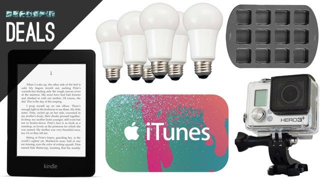 Deals: $20 off a Kindle, GoPro Black, LED Bulbs, Crispy-Edge Brownies