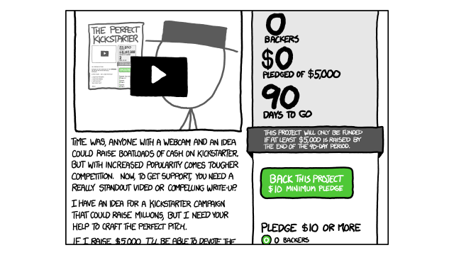 Kickstarter Will Eat Itself