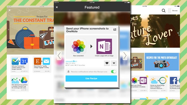 IFTTT Brings App Automation to the iPad, Adds Collections, and More