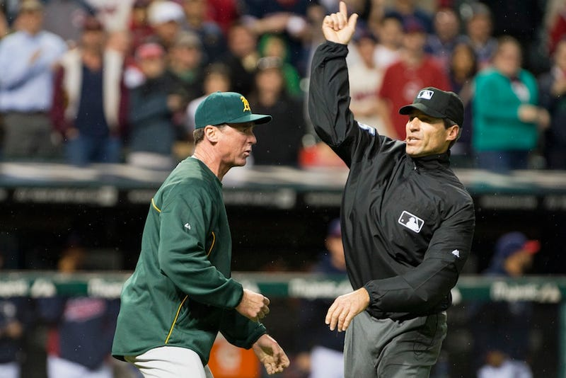 Umps Review Blown Home Run Call In Cleveland, Still Blow Call