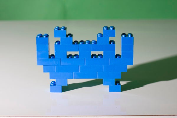 The Simplest Video Game Legos