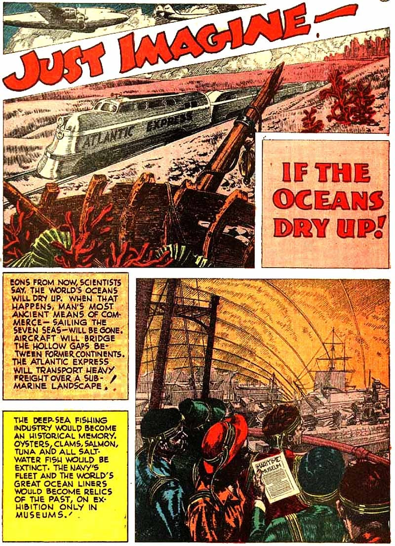 The time-traveling telescope and other futuristic visions from 1940s pulp comics