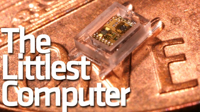 The World's Smallest Computer Wants To Be Inside Of You
