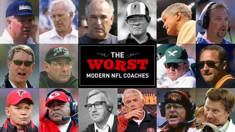The 16 Worst Coaches In Modern NFL History