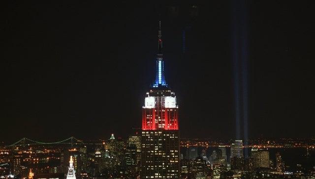 Top of Empire State Building to Display Real-Time Election Results