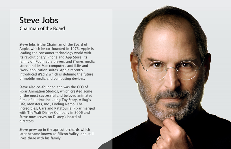 There's a Very Special New Page at Apple.com
