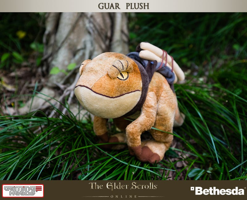 Plush Elder Scrolls Pack Guar Probably Won't Bite Your Head Off