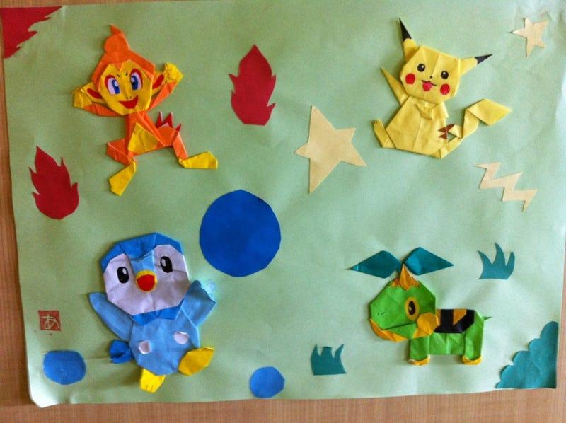 Folding Pokémon Makes Little Kids Better