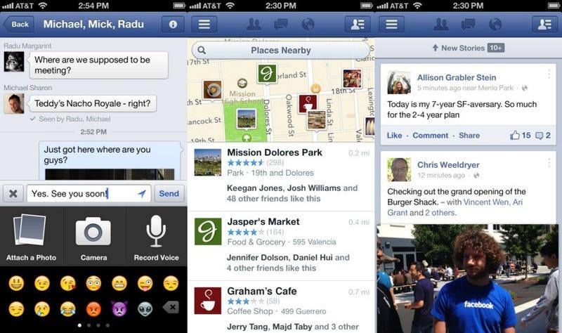 Facebook tiene envidia de Vine, añade vídeo a su app