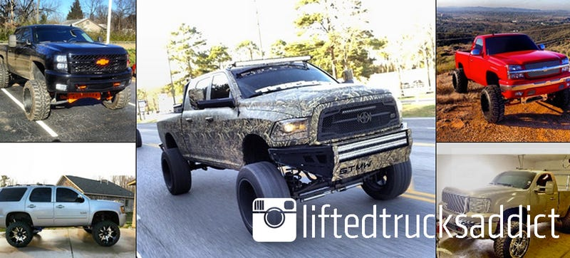 Gut-Bumpin' Fist-Pumpin' Bro Trucks: liftedtrucksaddict On Instagram