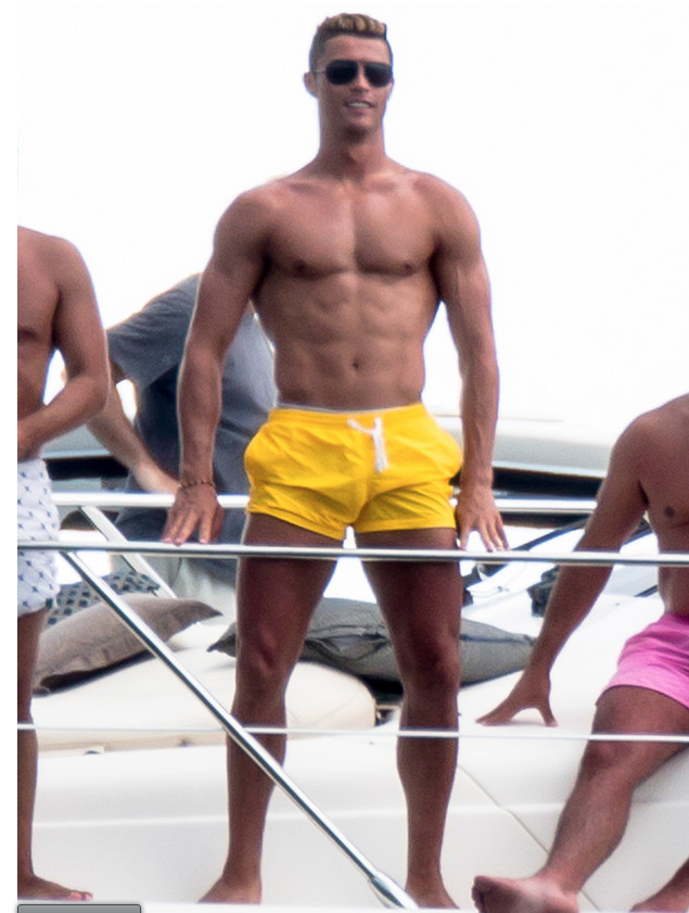 Cristiano Ronaldo Has Completed His Transmutation Into A Ken Doll