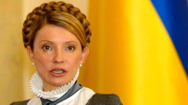 Ukraine's Female Ex-Prime Minister Is Too Sexy to Trust, Says Idiot