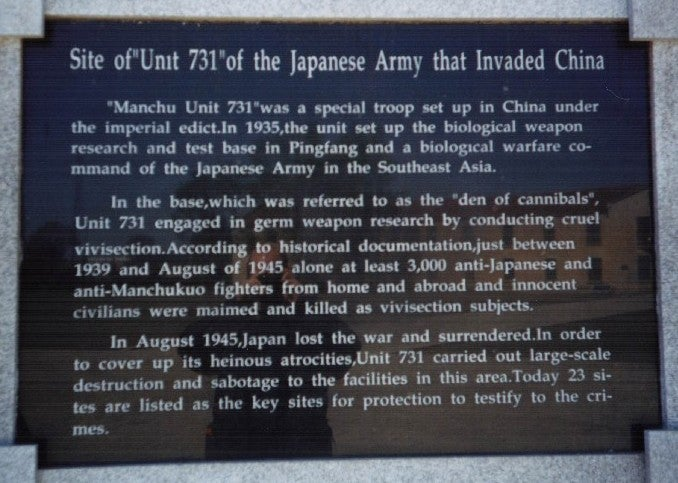 During World War II, Japan plotted to unleash a plague on the United States