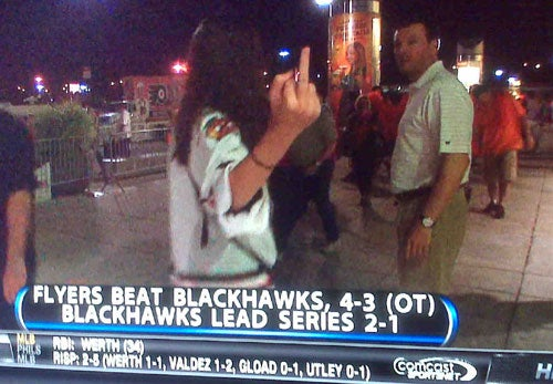 Blackhawk Fans Do Not Handle Rejection Well