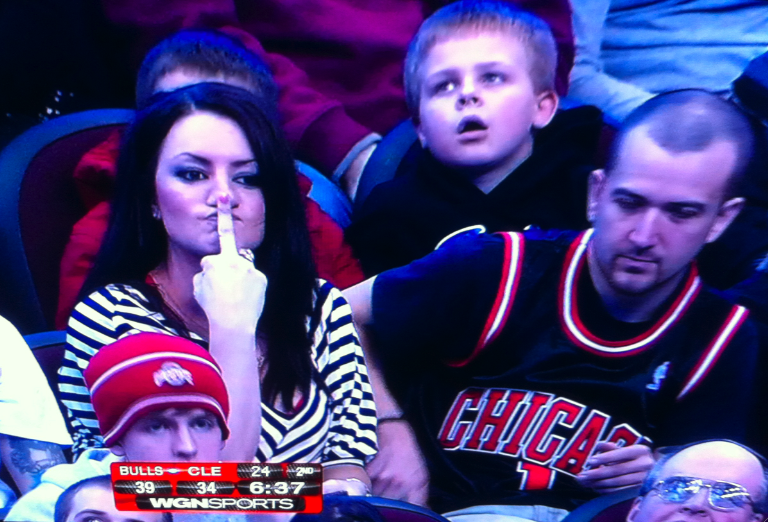 Even The Top Seed In The Playoffs Isn't Good Enough For This Expressive Bulls Fan