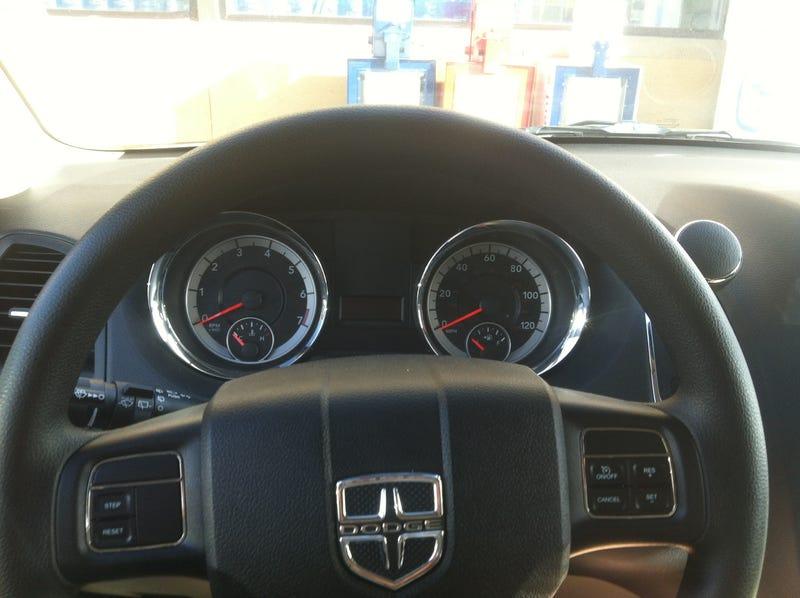 Rental car review - 2013 Dodge Grand Caravan