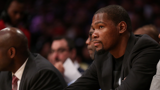 Aw Hell, Kevin Durant Is Done For The Season