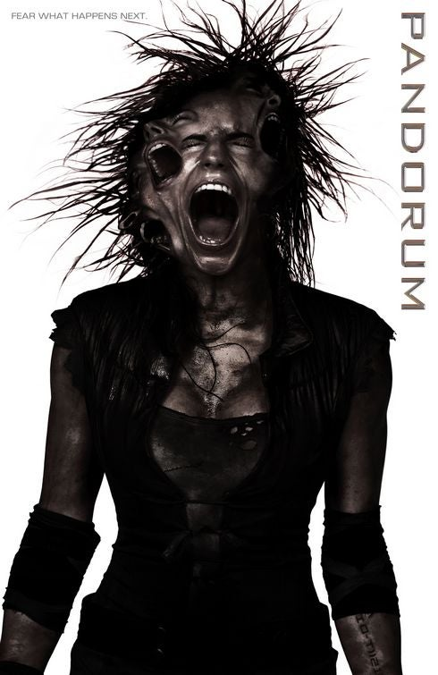Yet Another Freaky And Uncomfortable Pandorum Poster For Your Weekend Space Terrors