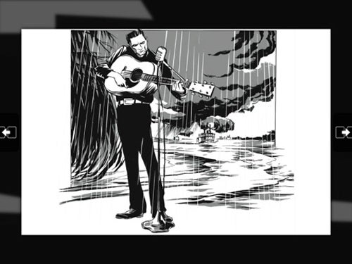 Johnny Cash Graphic Novel Goes HD For iPad App
