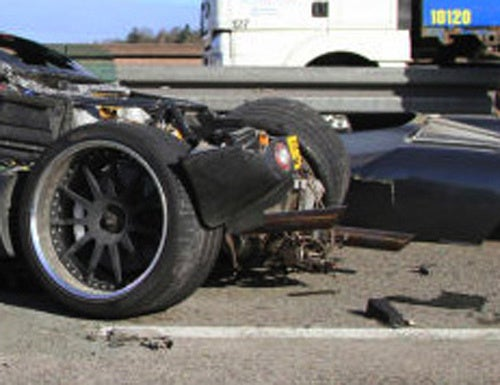 $1.3 Million Pagani C9 Prototype Totaled Outside Stuttgart