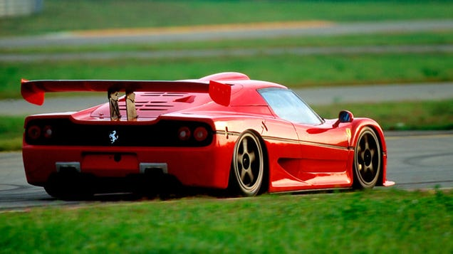 the ferrari f50 was the last f1 engined road car. Black Bedroom Furniture Sets. Home Design Ideas