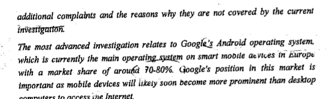 Here's the Letter From EU's Antitrust Chief Where He Caves On Google
