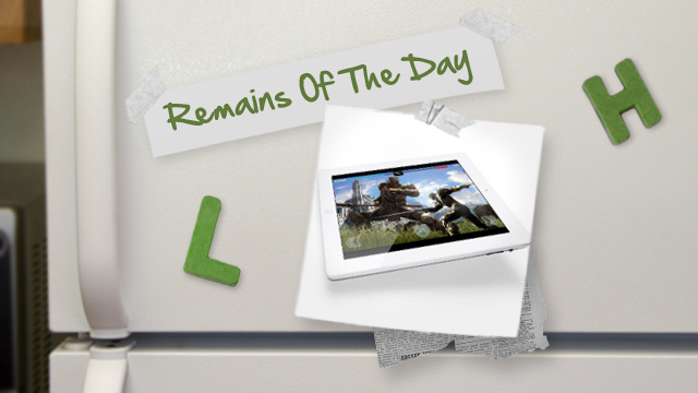Remains of the Day: Verizon, Not AT&T, to Include WiFi Tethering in iPad Plans