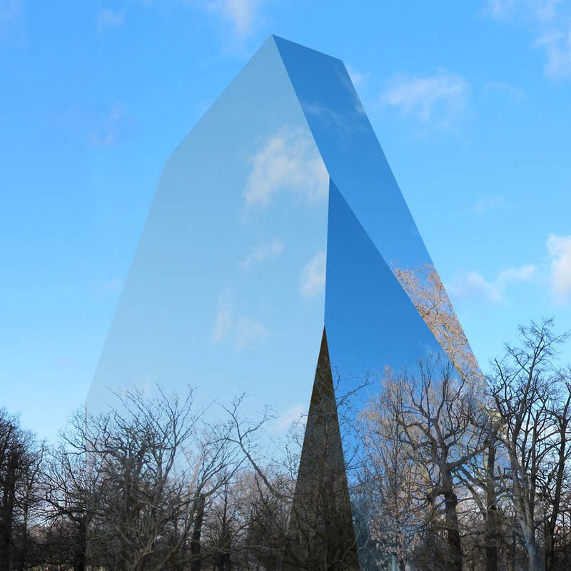 These incredible, reflective buildings look almost invisible