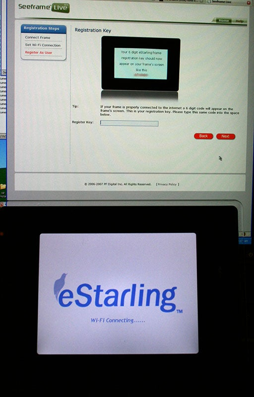 eStarling Wifi Picture Frame (Verdict: Third Time's the Charm)