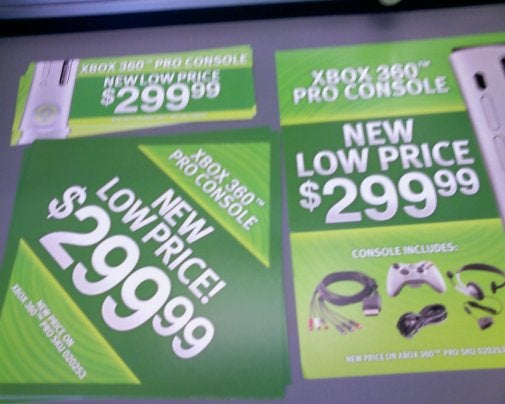 GameStop's Leaked Xbox 360 Price Drop Info