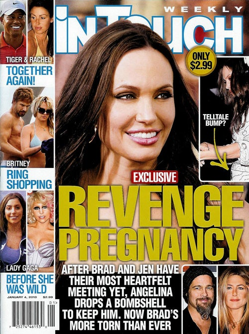 "This Week In Tabloids: Angie's ""So Lonely"" & The Jersey Shore Kids Are Injecting Tanner"