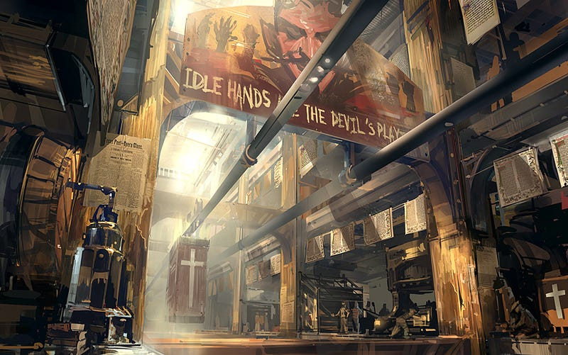 The Beautiful Concept Art Of BioShock Infinite