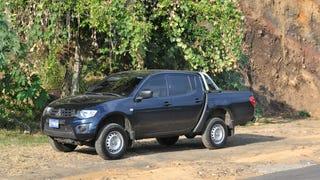 Ever wonder what a 134hp diesel Mitsubishi L200 is like?