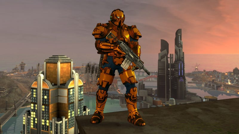 New Crackdown 2 Screens Show Off Shiny Preorder Armor