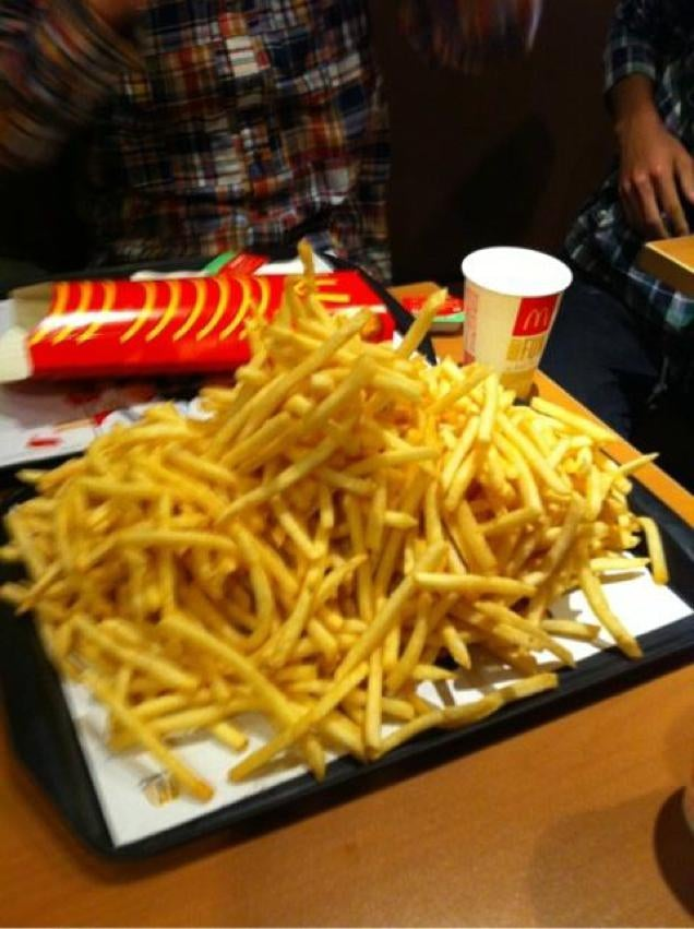 All-You-Can-Eat French Fry Buffet Begins in Japan