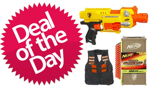 This Nerf Arsenal Is Your Foam-Guerrilla-Warlord Deal of the Day