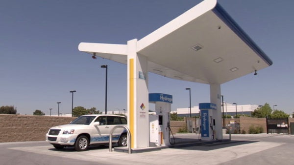 Fill your hydrogen car's tank straight from the pipeline