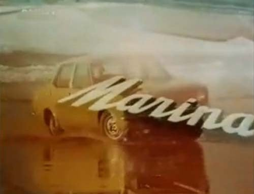 The Best Engineers In The World Create A Beautiful Car: Morris Marina!