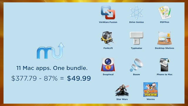 Get 11 Mac Apps, Including VMware Fusion, for $50 or 90% Off