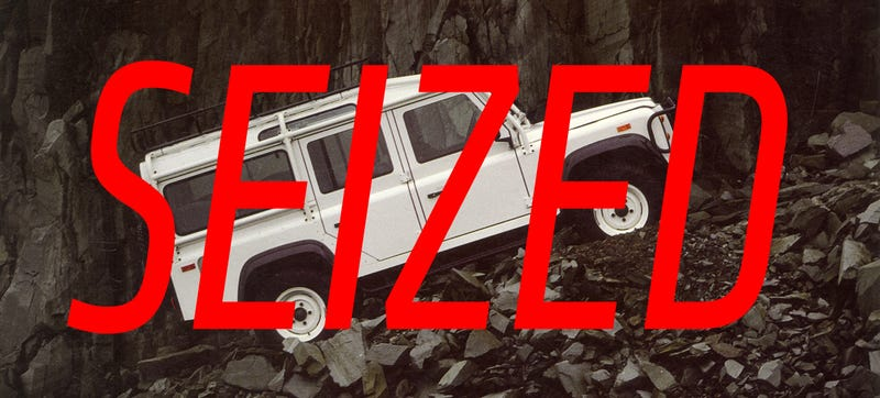 The Feds Just Seized 40 Land Rovers Imported To The U.S.