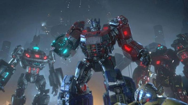 A Tantalizing Glimpse of Transformers: Rise of Grimlock