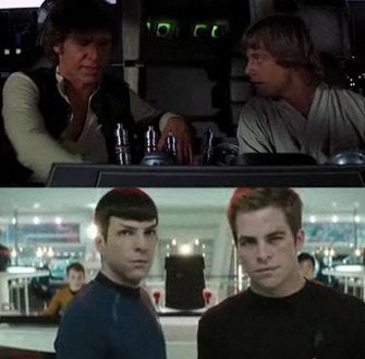 Star Trek Vs. Star Wars, A Video Comparison